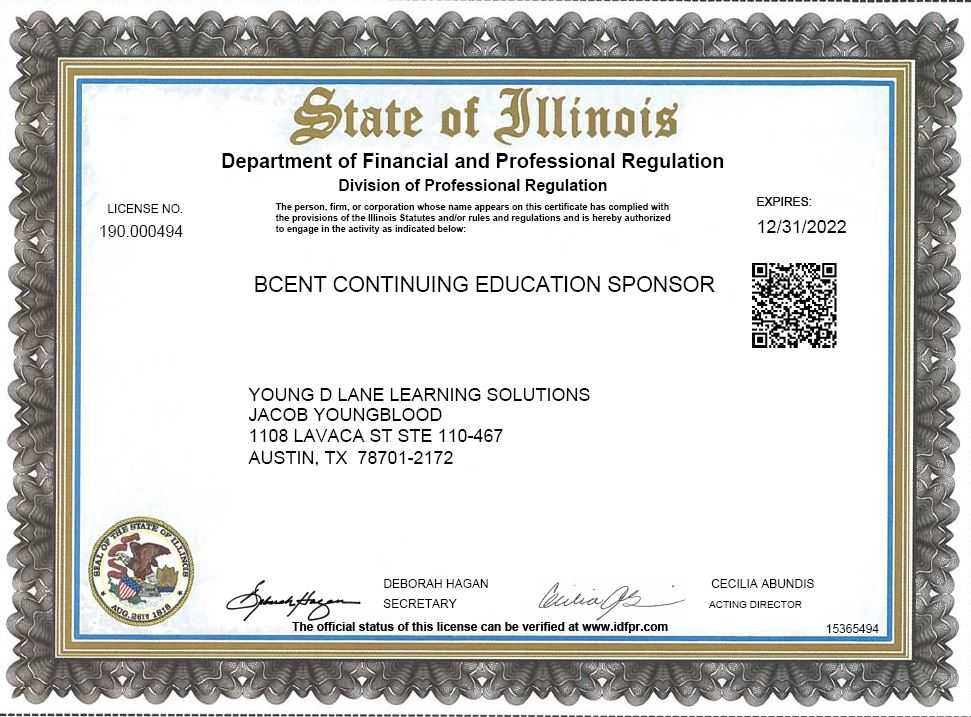 illinois cosmetology continuing education online - online illinois